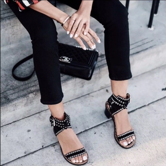 Isabel Marant Jaeryn Leather Sandals
